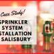 Sprinkler System Installation in Salisbury