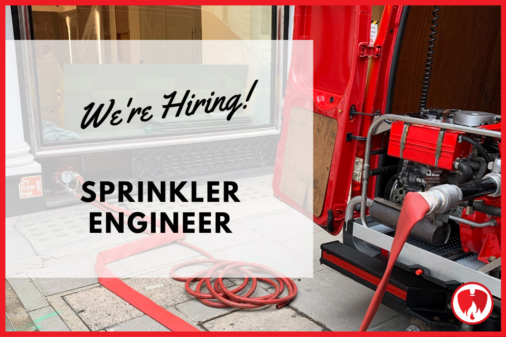 We're Hiring - Sprinkler Engineer