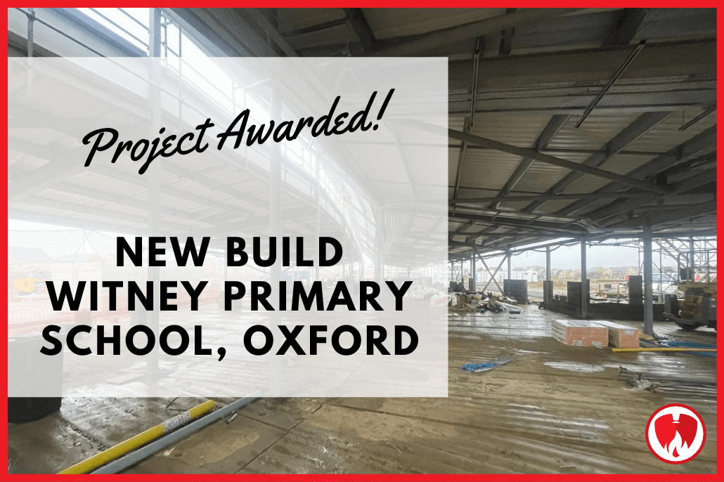 New Project Awarded: Witney Primary School, Oxford