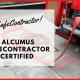 We're Alcumus SafeContractor Accredited!