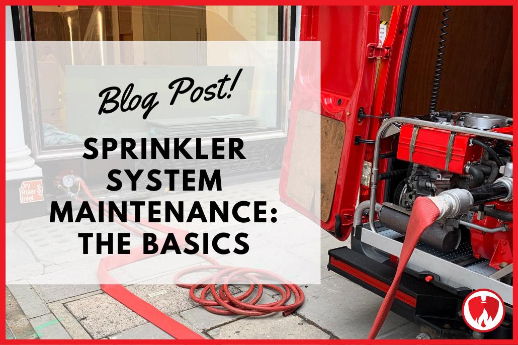 Sprinkler System Maintenance: The Basics